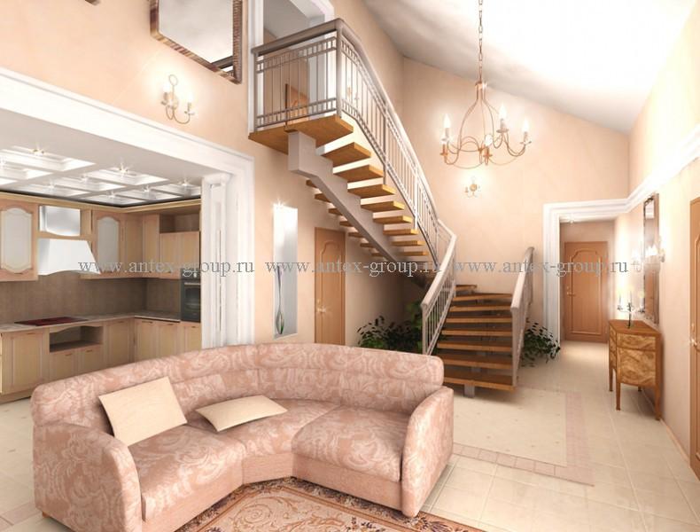 Проекты - Дачи из рубленого бревна Строительство дома с