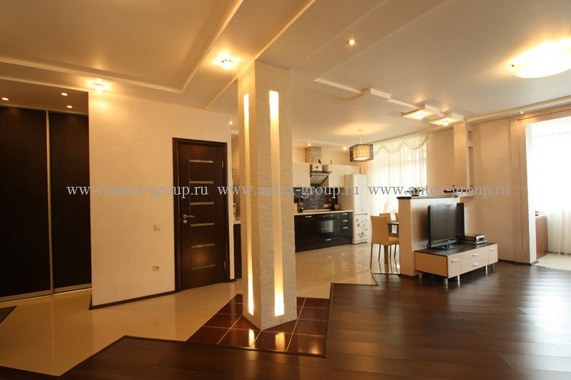 Варианты дизайна гостиной-кухни